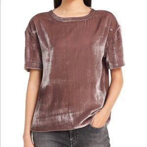 Calvin Klein Short Sleeve Velvet Tee